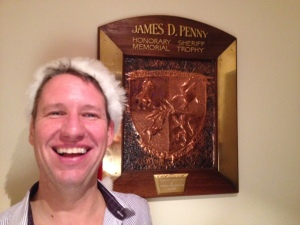 2013 Winner of the J D Penny Shield, Andy Barton