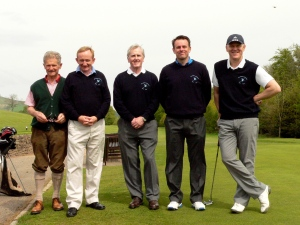 The Dun Whinny team for the Bell Trophy match against Crieff